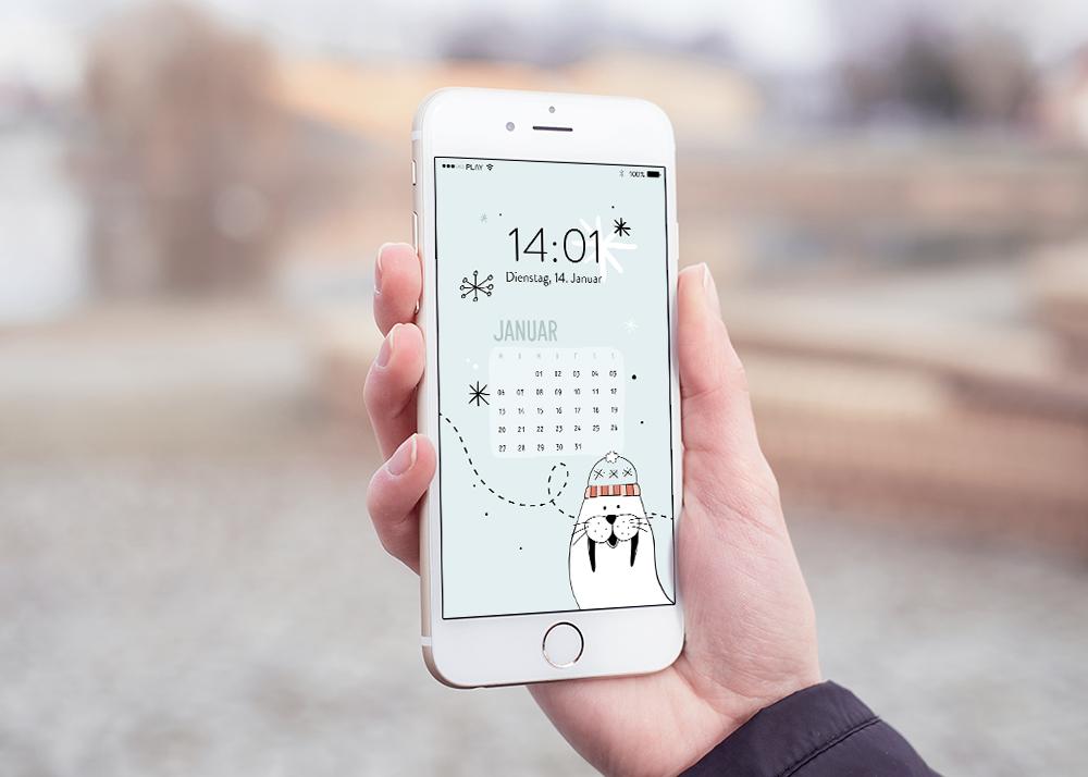 emotionworld freebie kostenloser smartphone hintergrund januar