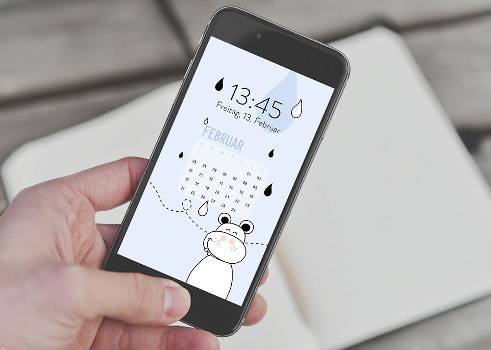 emotionworld freebie kostenloser smartphone hintergrund februar