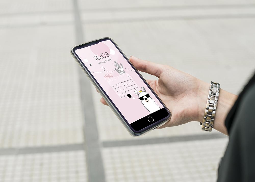 emotionworld freebie kostenloser smartphone hintergrund märz