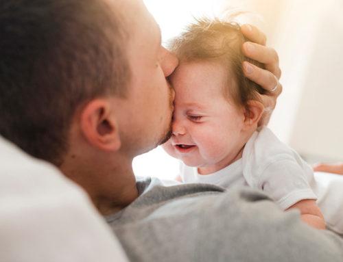 Wo schläft ein Vater nach der Geburt?