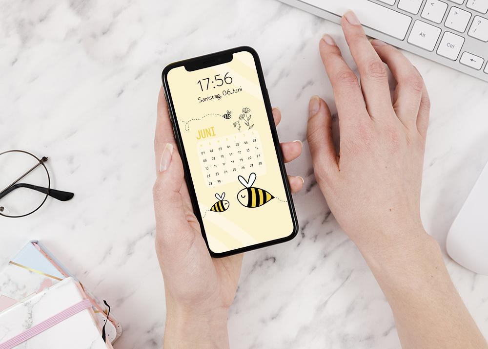 emotionworld freebie kostenloser smartphone hintergrund juni
