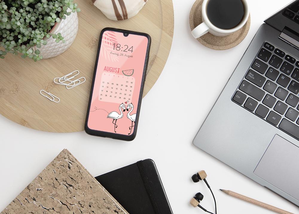 emotionworld freebie kostenloser smartphone hintergrund august