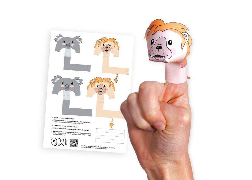 emotionworld diy fingerpuppen basteln - kostenlose vorlagen