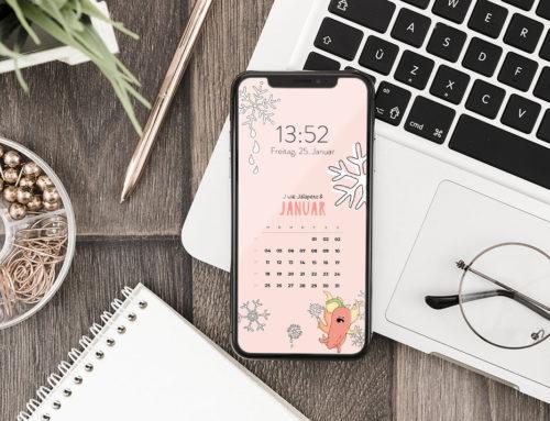 Kostenloser Smartphone Hintergrund Januar 2021