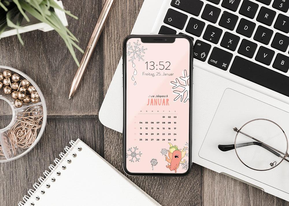 emotionworld kostenloser smartphone hintergrund januar 2021