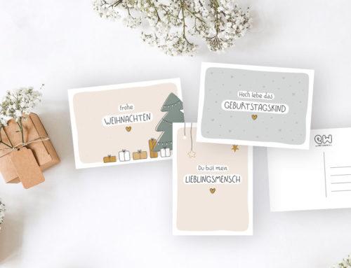 Postkarten-Liebe