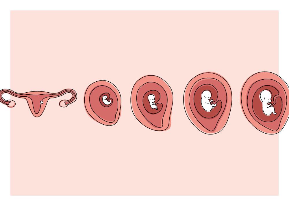 Nach bauch 1 schwangerschaft jahr Schwanger 1