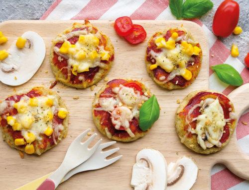 Gesunde Pizza für Babys & Kinder