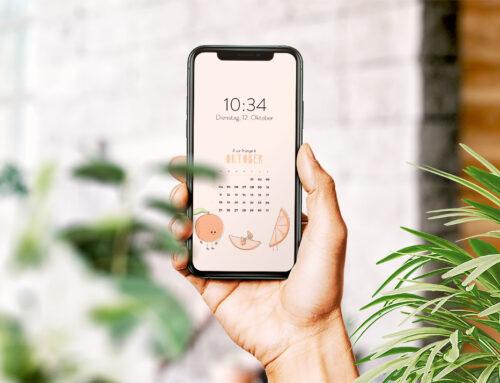 Kostenloser Smartphone Hintergrund Oktober 2021